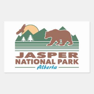 Jasper National Park Bear Sticker