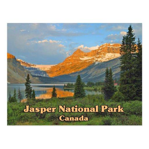 Jasper National Park Canada Post Card