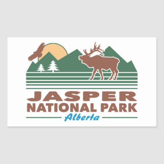 Jasper National Park Elk Sticker