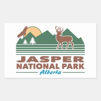 Jasper National Park Mule Deer Sticker