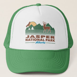 Jasper National Park Mule Deer Trucker Hat
