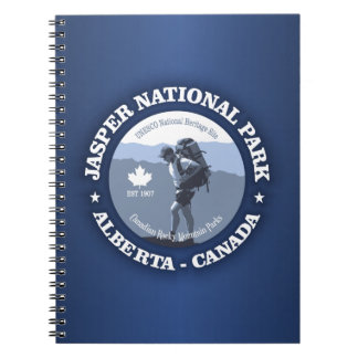 Jasper National Park Spiral Note Books