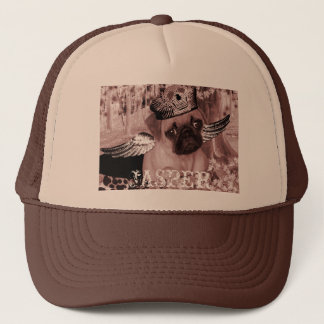 Jasper The Darling Pug Trucker Hat