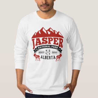 Jasper Vintage Canada Red T-Shirt