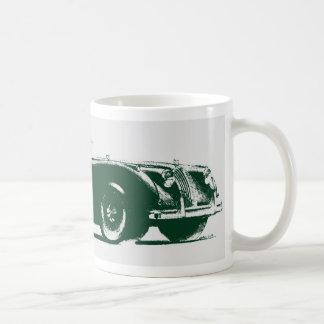 Jaugar xk140 coffee mug