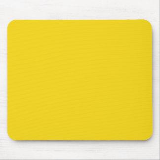 Jaune citron solide tapis de souris