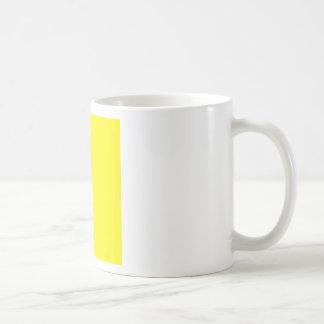 Jaune citron tasses
