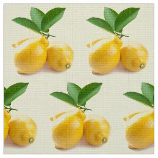 jaune citron tissu