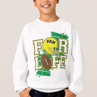 Jaune de passioné du football tee shirts