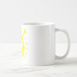 Jaune de tasse de Moroni d'ange