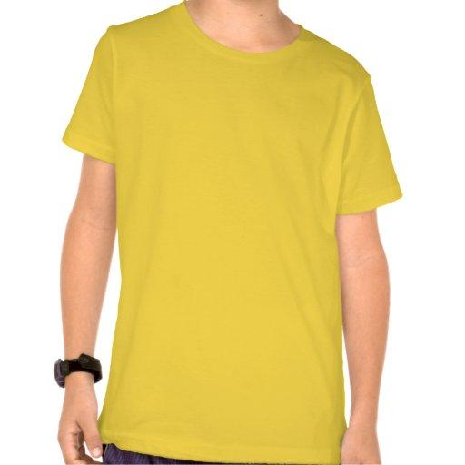 Jaune vert Checkered avec des ballons de football T-shirts
