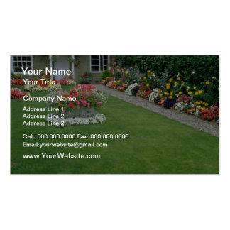 jaunissez le jardin anglais étrange d'A, Londres,  Cartes De Visite Personnelles