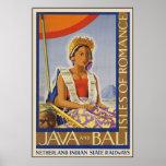 Java and Bali Isles of Romance Poster