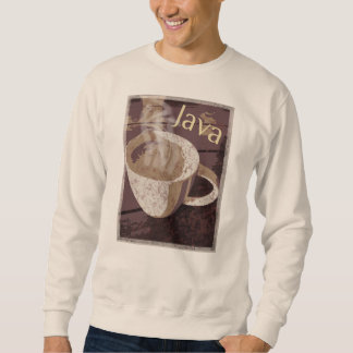 Java Coffee Mug Art Sweatshirt