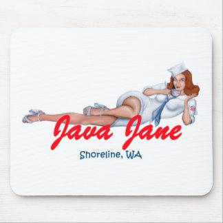 Java Jane Mouse Pad