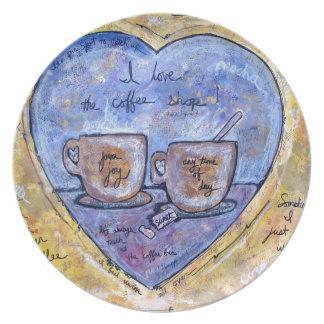 Java joy plate