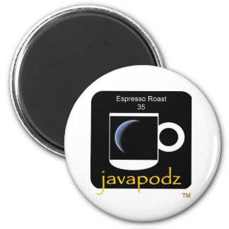 JavaPodz Collectible Espresso Roast Frig Mag Magnet