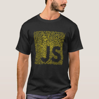 Javascript Logo Wordcloud T-Shirt