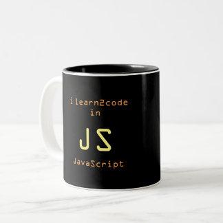 JavaScript Ninja 1 black mug