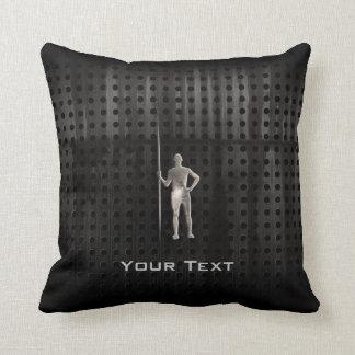 Javelin Throw; Cool Throw Pillow