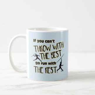 Javelin Throw With The Best- Coffee Mug