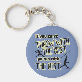 Javelin Throw With The Best- Keychain