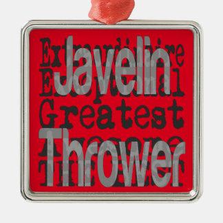 Javelin Thrower Extraordinaire Metal Ornament