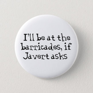 Javert Les Miserables 2 Inch Round Button