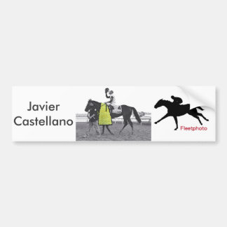 Javier Connected Bumper Sticker