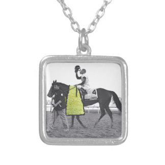 Javier Connected Silver Plated Necklace