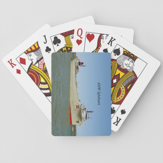 JAW Iglehart playing cards