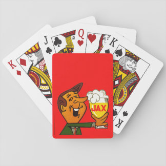 Jax Beer Classic Playing Cards