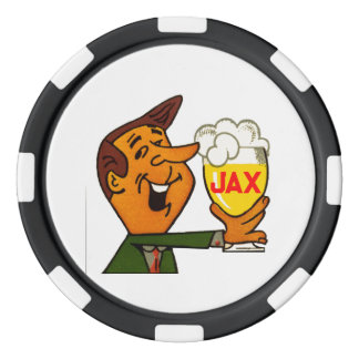 Jax Beer Poker Chips