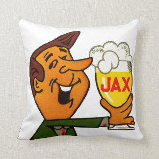 Jax Beer Throw Pillow
