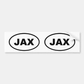 JAX Jacksonville Bumper Sticker