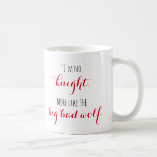 Jax Wolf Quote Mug