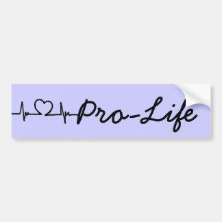 Jaxon Alexander Kelley Pro-Life Bumper Sticker