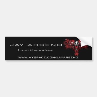 "Jay Arseno ""From The Ashes"" Bumper Sticker"