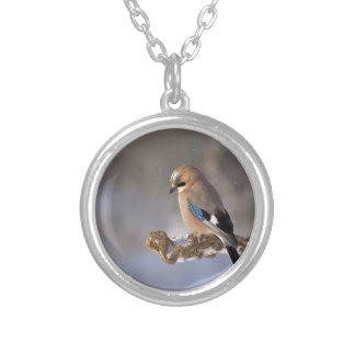 jay silver plated necklace