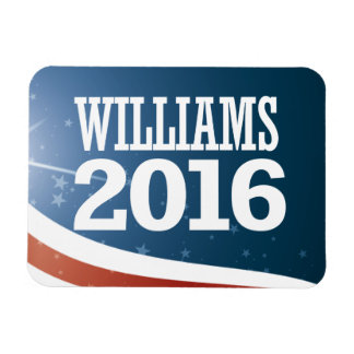 Jay Williams 2016 Rectangular Photo Magnet