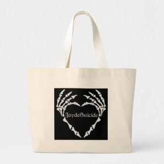 Jayde Suicide Logo Large Tote Bag