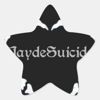 Jayde Suicide Logo Star Sticker