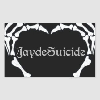 Jayde Suicide Logo Sticker