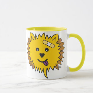 JayJay the Chow Face- yellow Mug