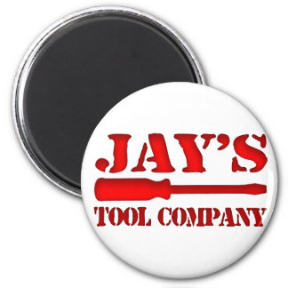 Jay's Tool Company 2 Inch Round Magnet