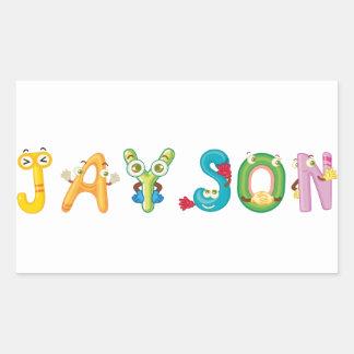 Jayson Sticker
