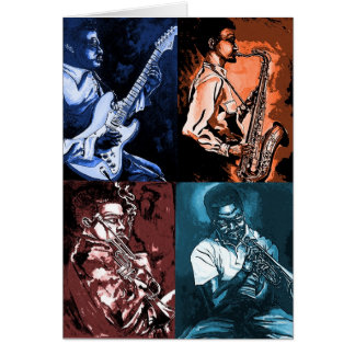 jazz and blues card