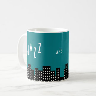 Jazz and the City Coffee Mug