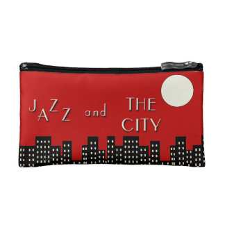 Jazz and the City Cosmetic Bag