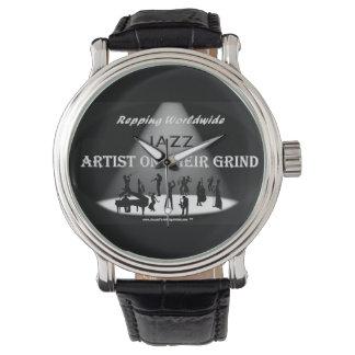 JAZZ Artist On Their Grind- MEN VINTAGE WATCH